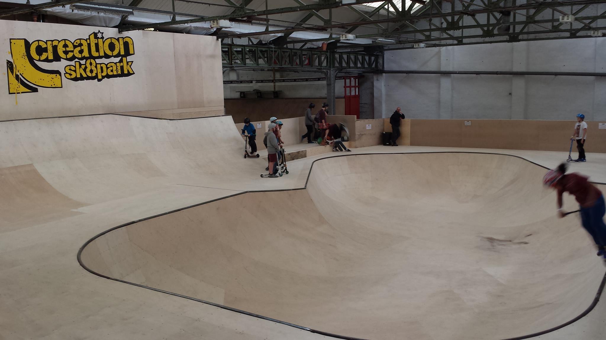 The Bowl Complex Creation Skatepark Birmingham
